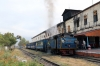 ONR X Class steam loco 37398 waits departure from Mettuplayam with 56136 0710 Mettupalayam - Udagamandalam