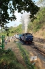 ONR X Class steam 37398 brings up the rear of 56136 0710 Mettupalayam - Udagamandalam during a water stop at Adderley