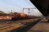 VTA WDG3A 13301 runs into Ahmedabad Jn with a freight