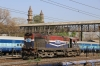 RTM liveried but recently transferred, VTA WDM3A 16806 runs through Ahmedabad Jn
