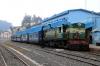 GOC YDM4 6724 waits departure from Udagamandalam with 56137 1400 Udagamandalam - Mettupalayam