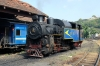 ONR X Class steam 37397 shunts off shed to work 56137 1400 Udagamandalam - Mettupalayam forward