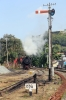 ONR X Class steam 37397 backs down to work 56137 1400 Udagamandalam - Mettupalayam forward from Coonoor