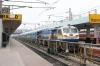 GY WDP4D 40186 waits to depart Secunderabad Jn with 17058 1225 Secunderabad Jn - Mumbai CST