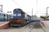 PA WDM3D 11361 stabled at Hyderabad DN with a set of stock