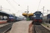 Hyderabad DN (L-R) - KYN WDM3D 11363 with 12702 1445 Hyderabad DN - Mumbai CST & KZJ WDG3A 14591 with the stock for 17027 1650 Secunderabad Jn - Kurnool City, which ran round to Secunderabad empty stock