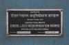 LKO WDM3D 11589 waits the road at Chaukhandi with 14266 1815 (P) Dehradun - Varanasi Jn