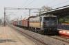 LDH WAG7 27682 runs into Andul station on the outsirts of Kolkata
