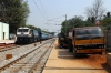 KJM WDP4 20053 runs through Lottegollahalli with 17603 2100 (P) Kacheguda - Yesvantpur Jn
