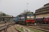 UDL WDG3A 14871 is the carriage sidings pilot at Guwahati Jn