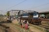 HWH WDM3D 11333 waits the road at Bakhtiyarpur Jn with a late running 53043 1110 (P) Howrah - Rajgir Fast Passenger