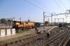 GTL WDG3A's 13467/14656 at Secunderabad Jn after arriving with 17063 2050 (P) Manmad Jn - Secunderabad Jn Ajanta Express