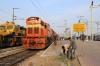 GTL WDM3D's 11436/11438 wait to depart Secunderabad Jn with 17206 0600 Kakinada Port - Sainagar Shirdi having just replaced BZA WAP4 22642