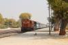 VTA WDG3A 13384 departs Ambli Road with 59547 1200 Ahmedabad Jn - Okha