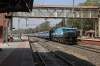 UBL WDP4 20009 passes through Sabarmati Jn with 16209 0530 Ajmer jn - Mysore Jn