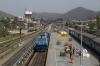 SGUJ WDP4 20015 arrives into Kamakhya Jn with 15651 1310 Guwahati Jn - Jammu Tawi