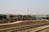 UDL WDM3A's 16647/16174 wait at Guwahati Jn with 15930 2345 (P) Dibrugarh - Tambaram while SGUJ WDG4 12532 sits adjacent