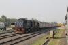 UDL WDM3A's 16178/16175 wait at Changsarai with 12551 0830 (PP) Yesvantpur Jn - Kamakhya Jn