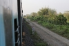 UDL WDM3A's 16647/16174 depart Changsarai with 15930 2345 (P) Dibrugarh - Tambaram. Evidence of the old MG alignment can be seen along the route