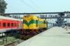 SSB WDS6 36526 at Delhi Sarai Rohilla after shunting the stock in for 12616 1750 Delhi Sarai Rohilla - Chennai Central