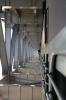 JMP WDM3A 18874 crosses the new Munger Rail Bridge while working 05522 0510 Saharsa Jn - Jamalpur Jn Passenger Special