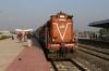 JMP WDM3A 18874 waits time at Munger while working 05522 0510 Saharsa Jn - Jamalpur Jn Passenger Special