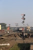 JMP WDP4D 40429 arrives into Jamalpur Jn with 13071 2135 (P) Howrah - Jamalpur Jn