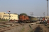 JMP WDM3A 18881 arrives into Jamalpur Jn with 22405 1330 (P) Bhagalpur Jn - Anand Vihar Terminus; running 18h30m late!