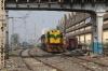 BAMY WDS6 36293 shunting stock in Bandra Terminus Yard