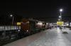 VTA WDG3A 13528 waits departure from Ahmedabad Jn with 22957 2210 Ahmedabad Jn - Veraval Jn