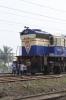 MLDT WDM3D 11551 waits to depart Malda Court with 55771 1030 Malda Court - Buniadpur