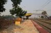 Upgrade works taking place at Adina on the Malda - Eklakhi Jn line
