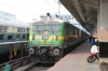 KZJ WAG9 32416 at Secunderabad Jn about to take the rake out off 12772 2200 (P) Nagpur Jn - Secunderabad Jn