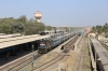 RTM WDM3A 16197 pauses at Veraval Jn with 59297 0600 Porbandar - Somnath