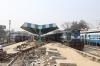 On the BG, IZN WDM3D 11156 at Pilibhit Jn with the stock for 55375 1715 Pilibhit Jn - Majhola Pakariya, on the MG, IZN YDM4 6531 waits to depart with 52221 1500 Pilibhit Jn - Mailani Jn