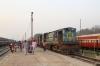 IZN YDM4 6531 at Mailani Jn after arrival with 52221 1500 Pilibhit Jn - Mailani Jn