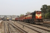 A couple of thousand km's from home, VSKP WDG3A 13646 waits its turn at Guwahati Jn with a westbound freight