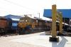 KYN WDG4D 70325 waits to depart Gwalior Jn with 59821 2205 (P) Kota Jn - Bhind
