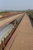 BWN WDM3A 18875 waits to depart Dumka with 53082 1445 Dumka - Rampurhat