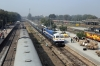 BGKT WDP4D 40275 arrives into Delhi Sarai Rohilla with 14662 1800 (P) Barmer - Delhi Jn; LDH WDM3A 16340 sits ock for 54421 1150 Delhi Sarai Rohilla - Rewari Jn and ET WAM4 21335 waits to depart with 14624 1220 Delhi Sarai Rohilla - Chhindwara