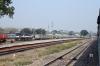 ABR WDM2 16781, having run round its train at Patel Nagar, is about to re-attach to 12065 0545 Ajmer Jn - Delhi Hazrat Nizamuddin Shatabdi