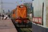 BKSC WDM3A 16182 runs round its set at Ranchi Jn to form 58653 0855 Ranchi Jn - Tori Jn Passenger