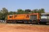 BKSC WDM3A 16182 waits departure from Lohardaga with 58653 0855 Ranchi Jn - Tori Jn Passenger