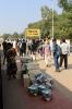 Goods being offloaded at Lohardaga