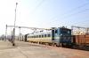 ED WAG7 27584 waits to depart Ranchi Jn with 58034 1545 Ranchi Jn - Bokaro Steel City Passenger