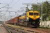UBL WDG4 12087 departs Bellary Jn with a freight