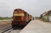 GTL WDG3A 14655 at Kadiridevarapalli being prepared to work back out with 57478 1325 Kadiridevarapalli - Tirupati