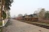 IZN YDM4 6524 at Dudwa with a late running 52258 0340 Mailani Jn - Bahraich