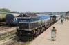 Guhwahti Jn stabled in the back sidings, SGUJ WDP4 40029, SGUJ WDP4 20085 & SGUJ WDG4 12532