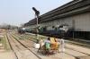 MLDT WDM3A 16845 shunts the carriage sidings at Guwahati Jn while MLDT WDM3A 16466 waits its next turn
